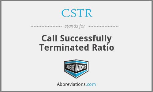 CSTR - Call Successfully Terminated Ratio