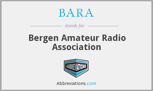 BARA - Bergen Amateur Radio Association