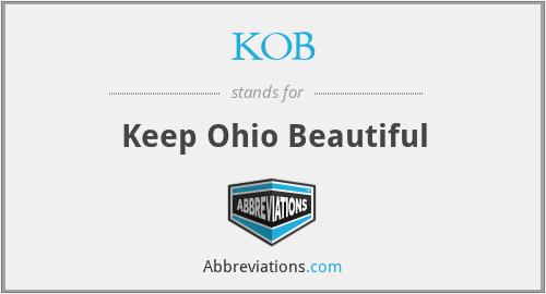 KOB - Keep Ohio Beautiful