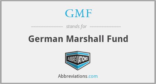 GMF - German Marshall Fund