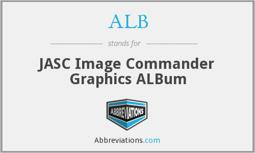 ALB - JASC Image Commander Graphics ALBum