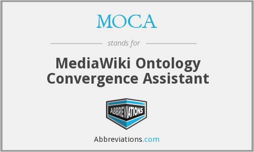 MOCA - MediaWiki Ontology Convergence Assistant
