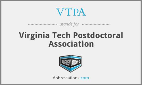 VTPA - Virginia Tech Postdoctoral Association
