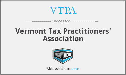 VTPA - Vermont Tax Practitioners' Association
