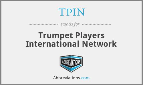 TPIN - Trumpet Players International Network
