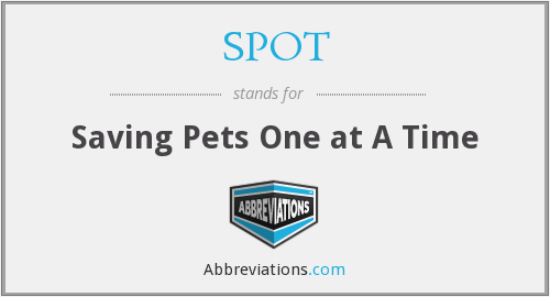 SPOT - Saving Pets One at A Time