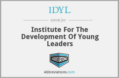 What does IDYL stand for?