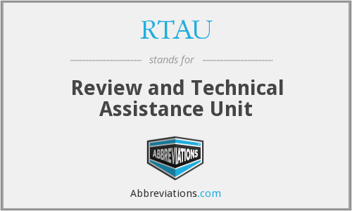 What does RTAU stand for?