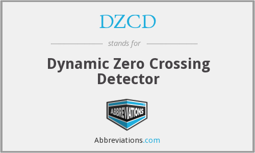What does DZCD stand for?