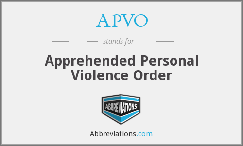 What does APVO stand for?