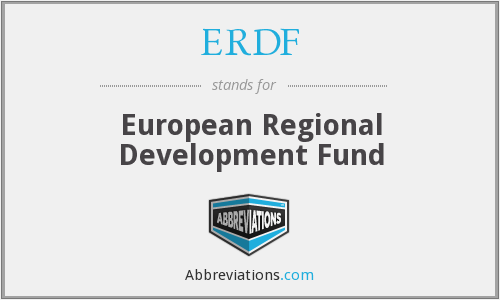 What does ERDF stand for?