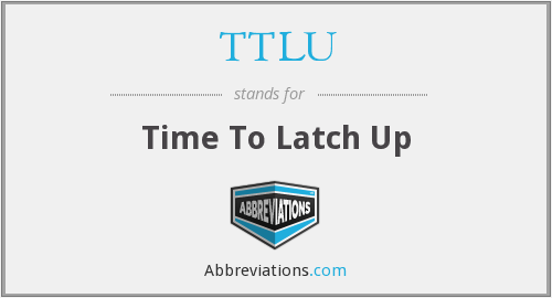 What does TTLU stand for?