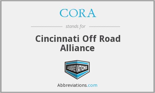 CORA - Cincinnati Off Road Alliance
