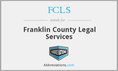 FCLS - Franklin County Legal Services
