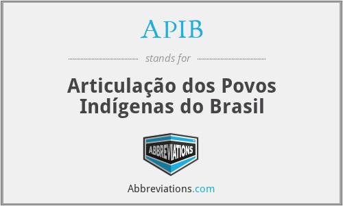 APIB - Articulação dos Povos Indígenas do Brasil
