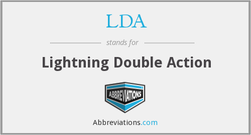 LDA - Lightning Double Action