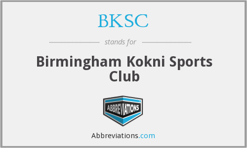 BKSC - Birmingham Kokni Sports Club