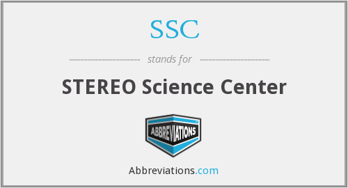 SSC - STEREO Science Center