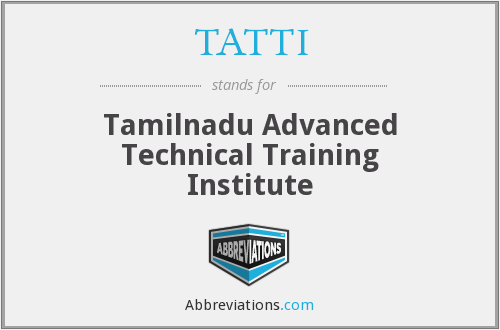 What does TATTI stand for?