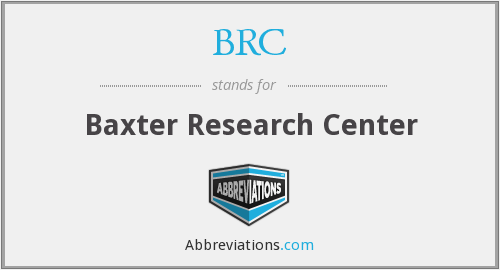 BRC - Baxter Research Center