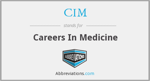 What does CIM stand for?