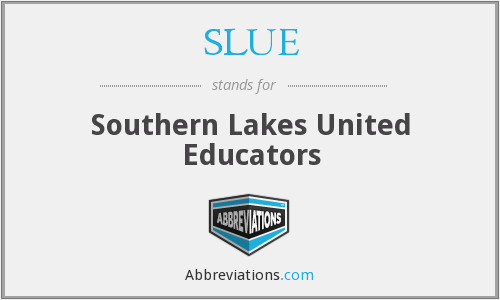 What does SLUE stand for?