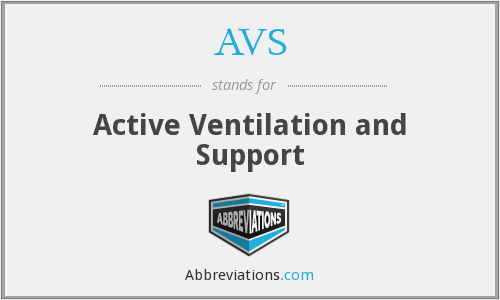 AVS - Active Ventilation and Support