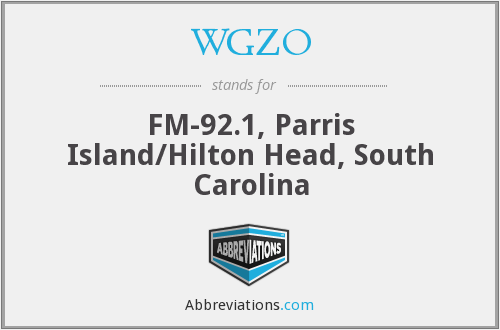 WGZO - FM-92.1, Parris Island/Hilton Head, South Carolina