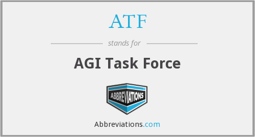 ATF - AGI Task Force