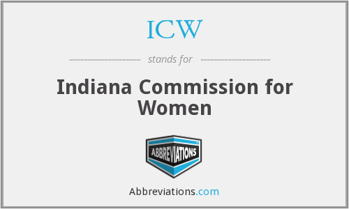 ICW - Indiana Commission for Women