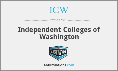ICW - Independent Colleges of Washington