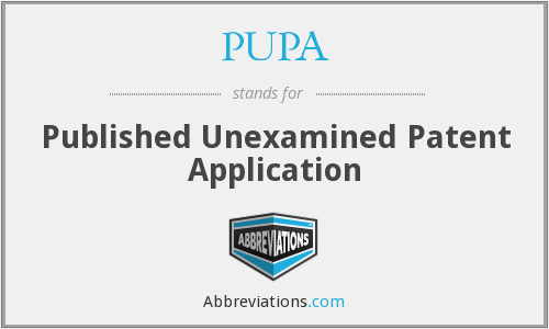 PUPA - Published Unexamined Patent Application