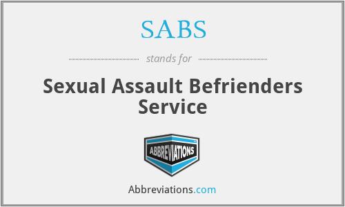 SABS - Sexual Assault Befrienders Service
