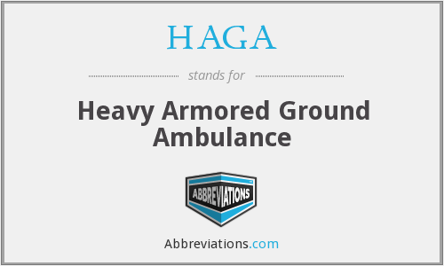 What does HAGA stand for?