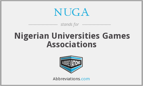 NUGA - Nigerian Universities Games Associations