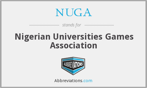 NUGA - Nigerian Universities Games Association