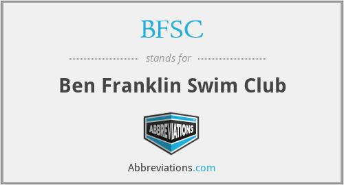 BFSC - Ben Franklin Swim Club