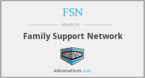 FSN - Family Support Network