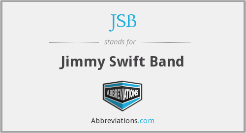 JSB - Jimmy Swift Band