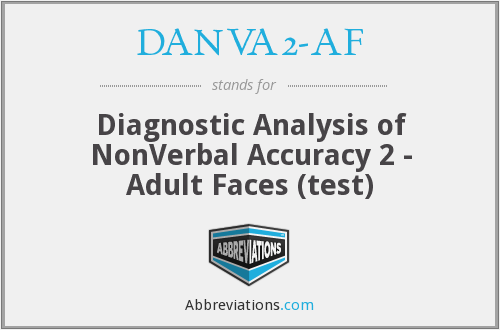What does DANVA2-AF stand for?