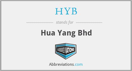 HYB - Hua Yang Bhd