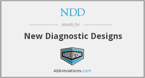 NDD - new diagnostic designs