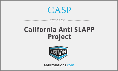 CASP - California Anti SLAPP Project