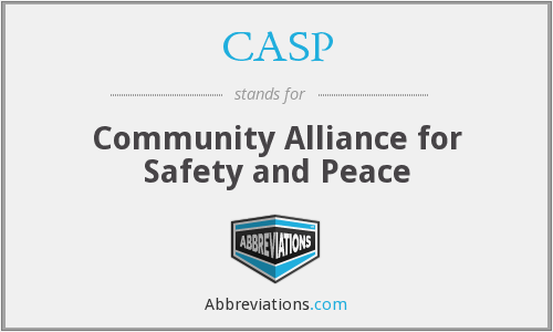 CASP - Community Alliance for Safety and Peace