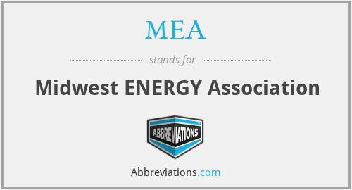 MEA - Midwest ENERGY Association