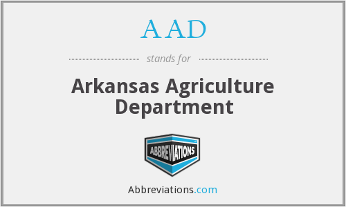 AAD - Arkansas Agriculture Department