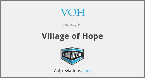 VOH - Village of Hope
