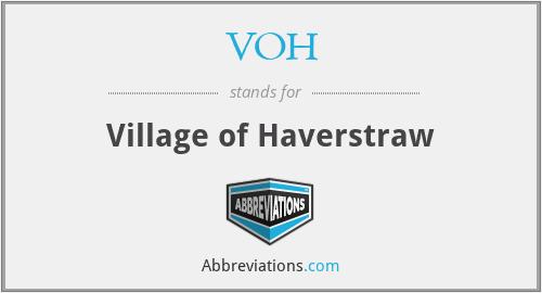 VOH - Village of Haverstraw