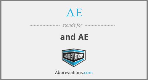 AE - and AE