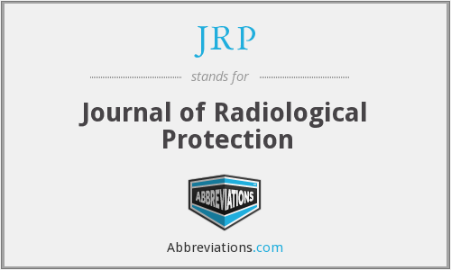 JRP - Journal of Radiological Protection